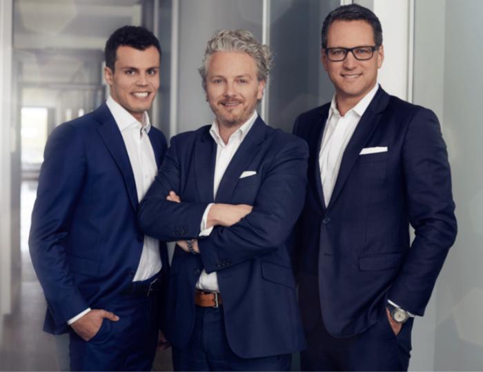 Vorstand der JDC Group AG: Stefan Bachmann, Ralph Konrad, Dr. Sebastian Grabmaier